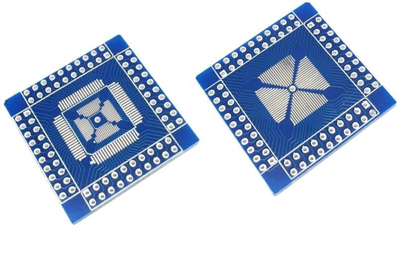 Adapter QFP/QFN/TQFP/LQFP 16-80PIN -> DIP