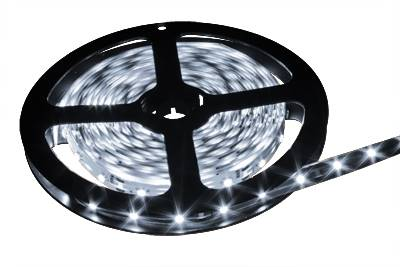 Taśma LED biała zimna 12V 3528 5m/600 IP20