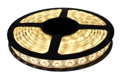 Taśma LED biała ciepła 12V 3528 5m / 300 IP65