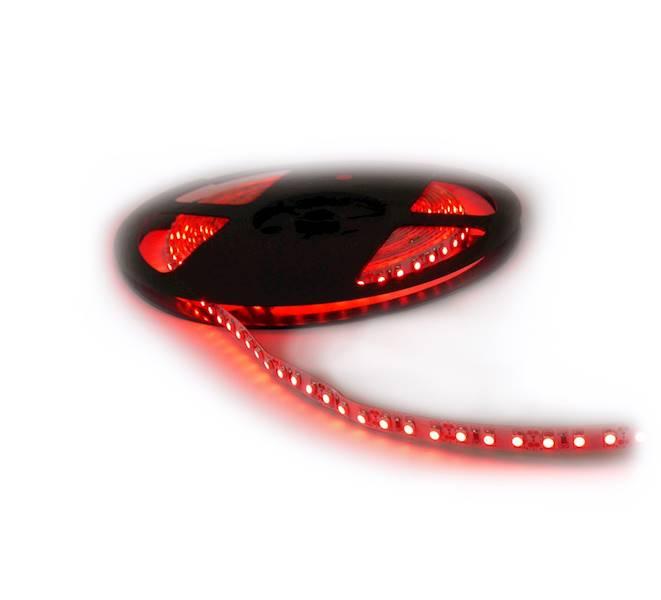 Taśma LED czerwona 12V 3528 5m/300 IP65