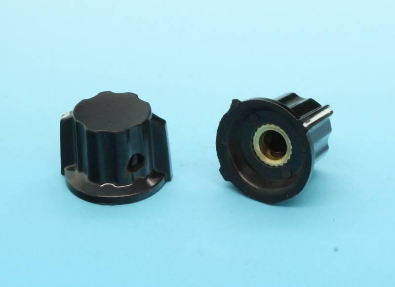 Gałka bakielitowa czarna GBCH15 15mm