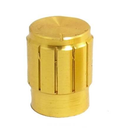 Gałaka potencjometru złota 13mm GZL13
