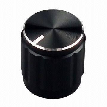 Gałka potencjometru czarna 15mm CGL15