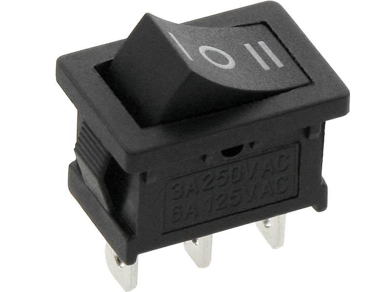 Przełącznik MK1012C 3-pozycyjny kołyskowy