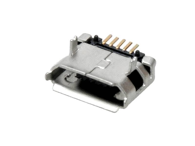 Gniazdo micro USB- SMD do druku