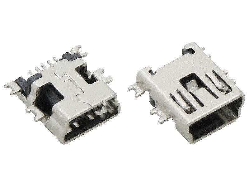 Gniazdo USB mini typ B do druku