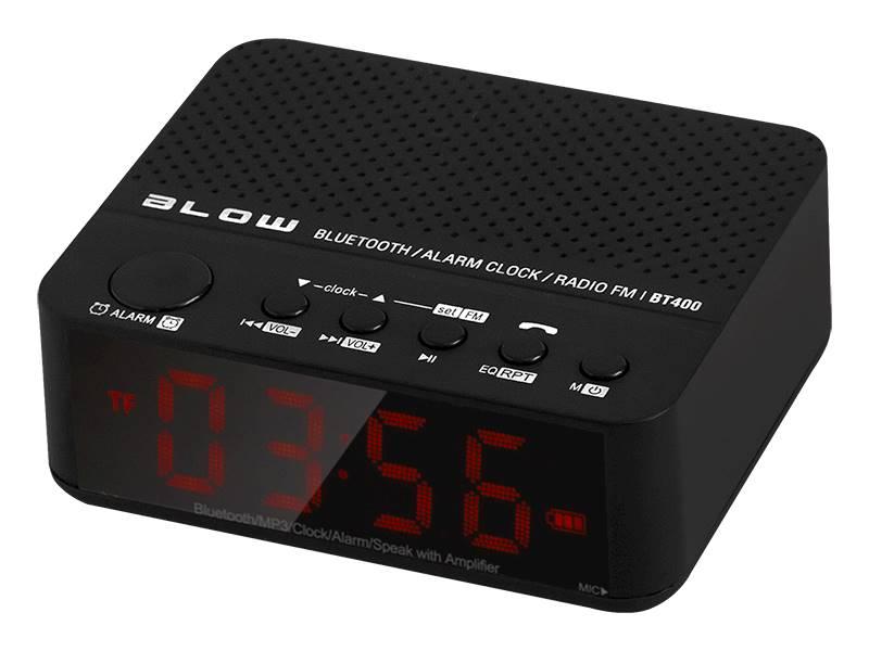 Głośnik Bluetooth BT400 zegar FM