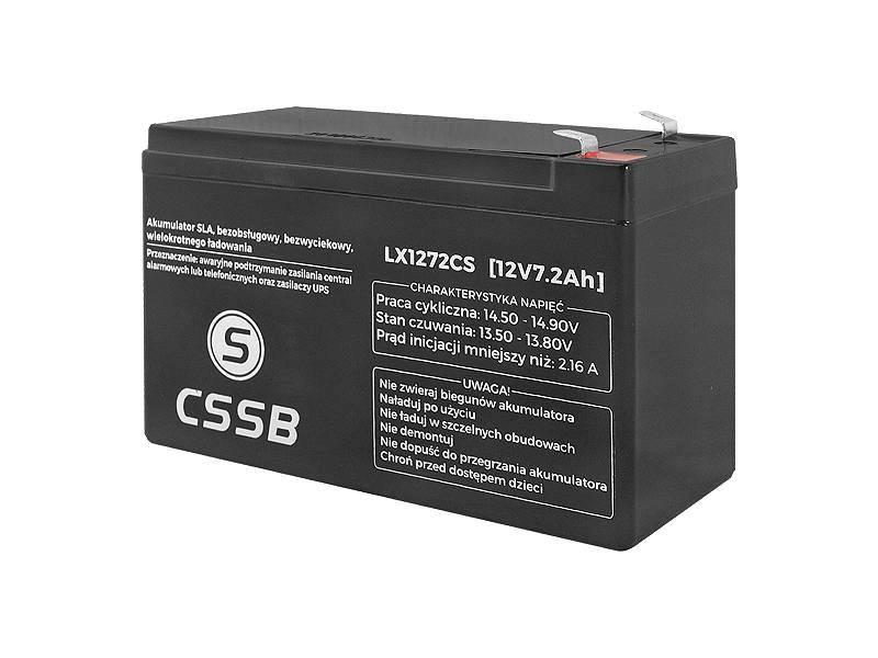 Akumulator żelowy 12V 7.2A