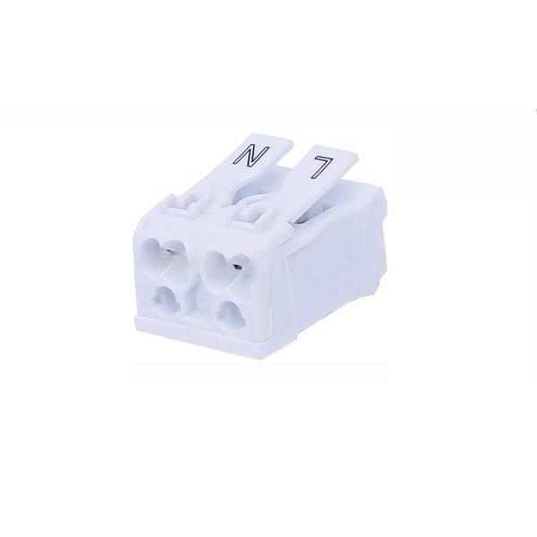 Szybkozłączka elektryczna 2 PIN linka 250V 15A