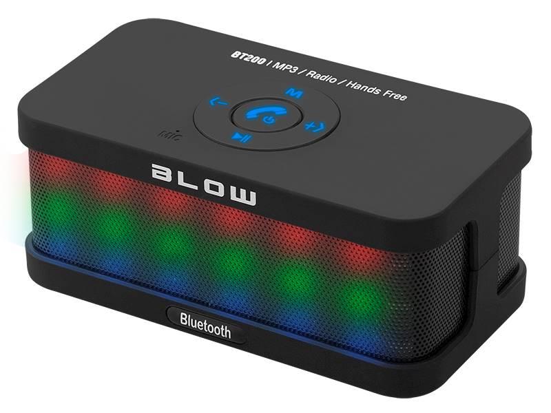Głośnik przenośny bluetooth BT200czarny FM