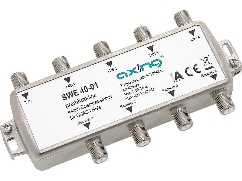 Multiswitch sumator SWE 40-01 5/4 AXING