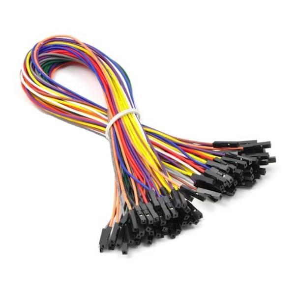 Kabel połączeniowy żeńsko - żeński 20cm do płytek