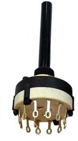 Przełącznik obrotowy 4-pozycyjny 3-obwody