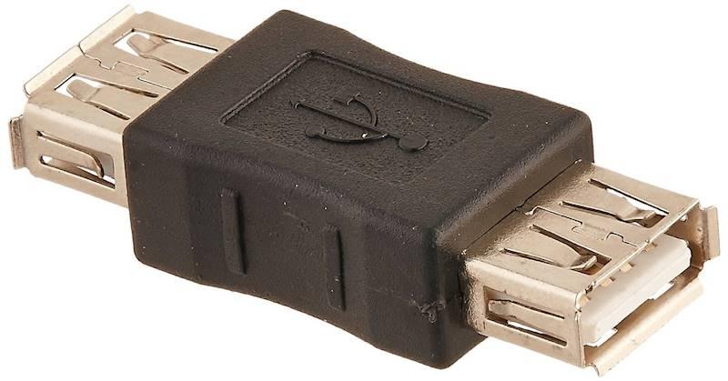 Adapter łącznik USB typ A gniazdo - gniazdo