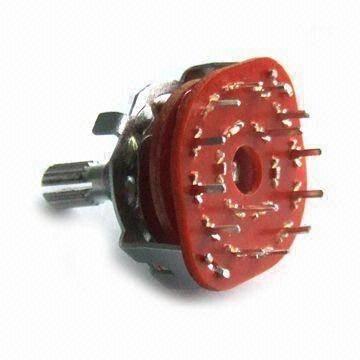 Przełącznik obrotowy PCB 5-pozycji 2-obwody