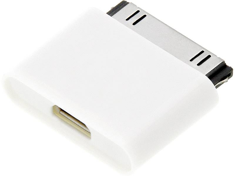 Adapter iPhone 4 wtyk - micro USB gniazdo