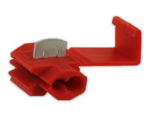 Szybkozłączka samochodowa 0.5-1mm czerwona