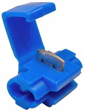 Szybkozłączka samochodowa 1-2.5mm niebieska