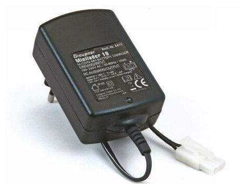 Graupner minilader 10 ( 800mAh 4,8V-12V )