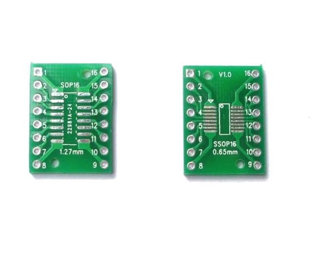Adapter SOP16 SSOP16 na DIP