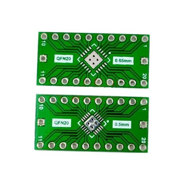 Adapter QFN20 na DIP
