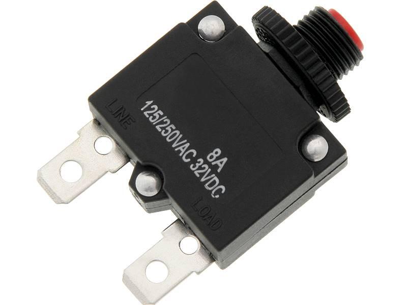 Wyłącznik bezpiecznik termobimetaliczny MR1 8A