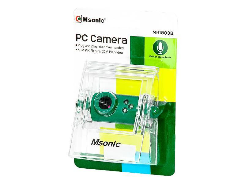 Kamera internetowa PC zielona