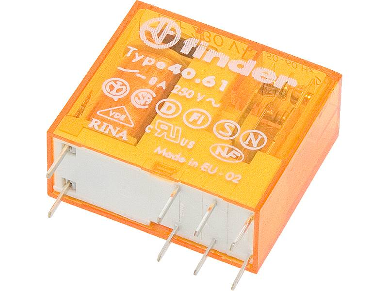 Przekaźnik 40.61 FINDER 16A 230V