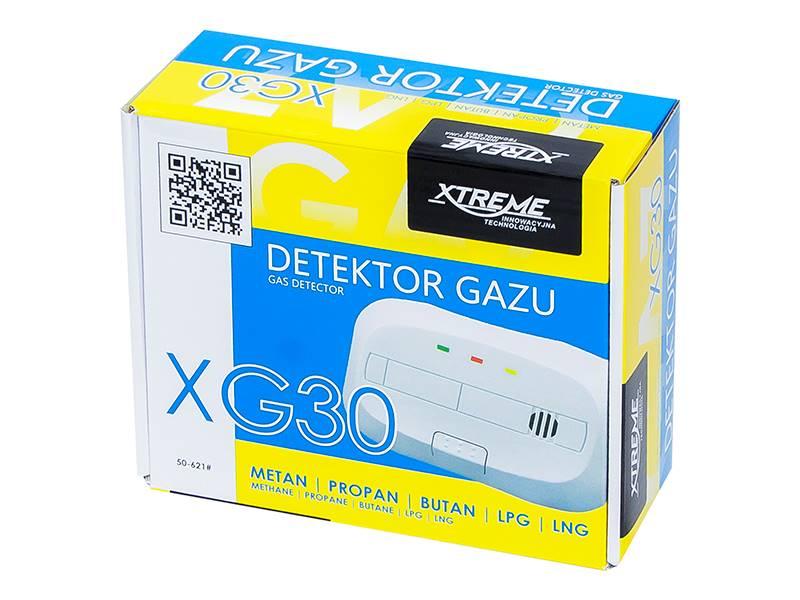 Detektor czujnik gazu + LNG XG30 230V