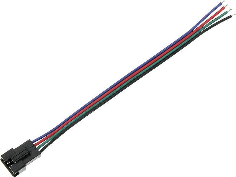 Konektor do taśm LED  gniazdo RGB z przewodem