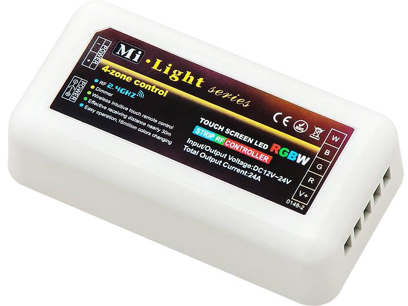Odbiornik sterowania LED RGB+W RF288W