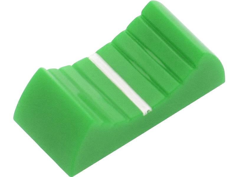 Gałka nakładka zielona S-1