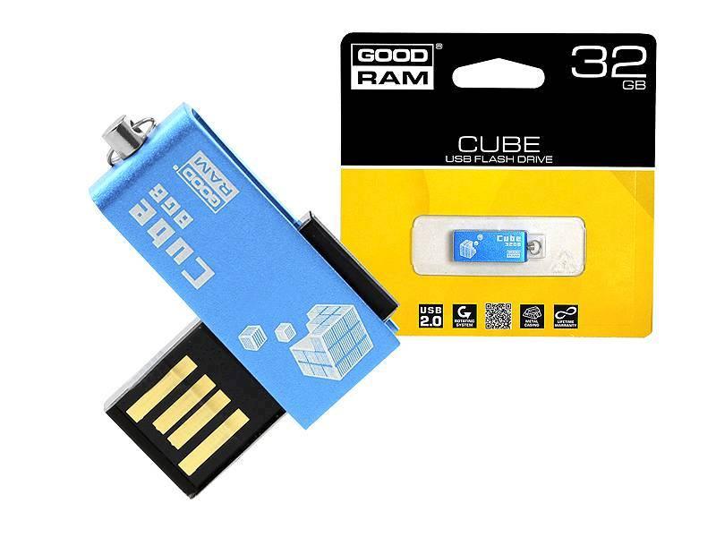 Pendrive GOODRAM 32GB UCU2 Cube Blue