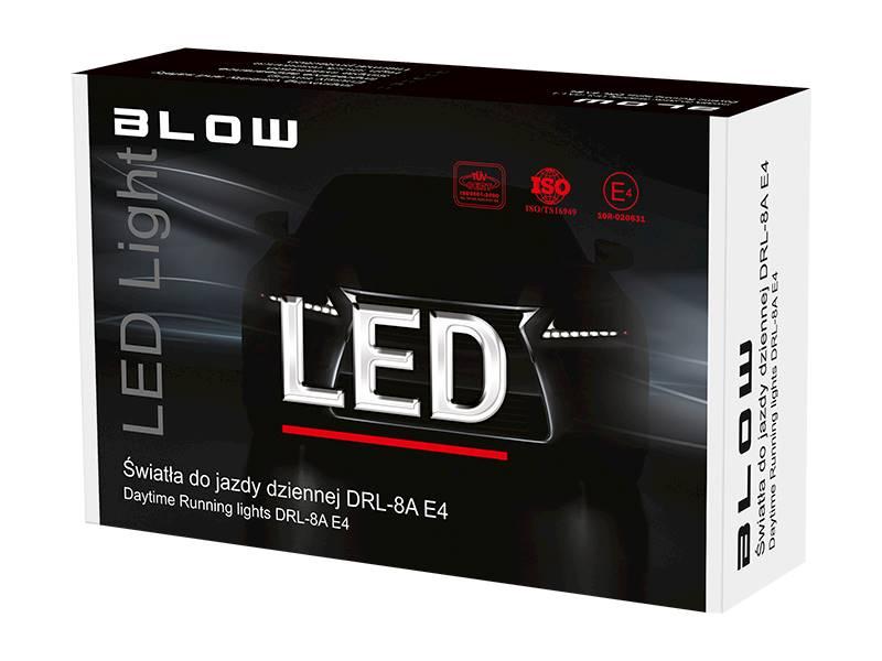 Światła do jazdy dziennej DRL-8A E4