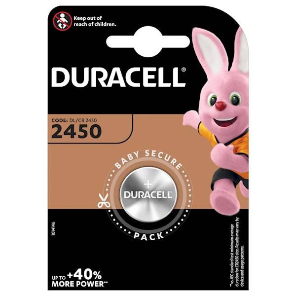Bateria CR2450  Duracell 3V DL2450