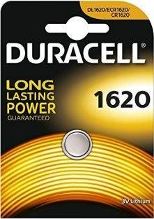 Bateria CR1620  Duracell 3V DL1620