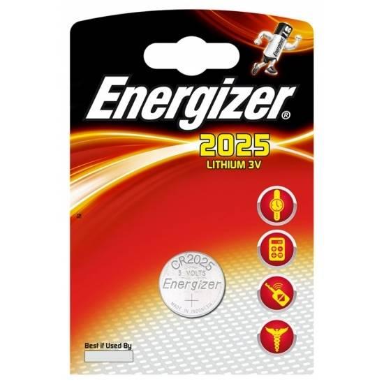 Bateria CR2025  Energizer ECR2025