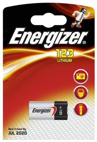 Bateria CR123  Energizer
