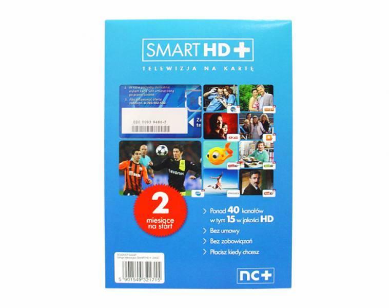 Usługa telewizji na karte SMART HD+