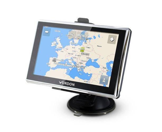 "Nawigacja GPS VORDON 5"" z AV"