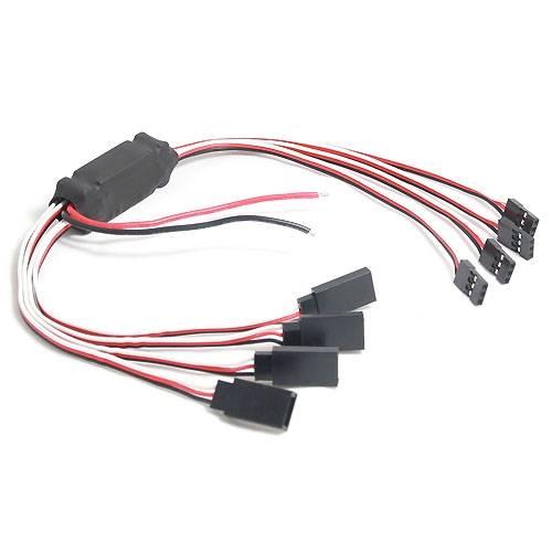 Adapter napięcia BEC z 4 wyjściami