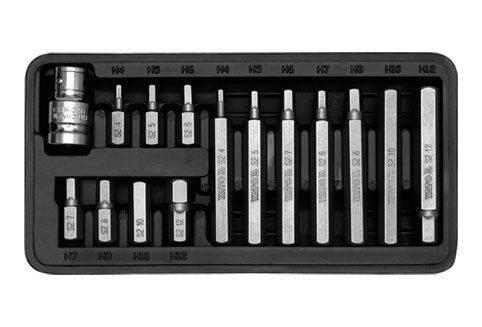 Komplet kluczy specjialistycznych 15szt. imbusy