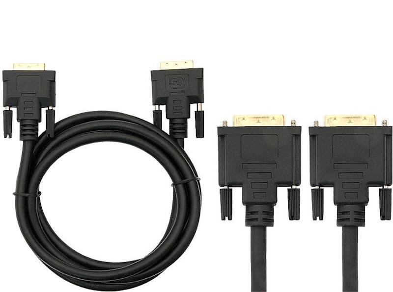 Kabel  DVI wtyk - DVI wtyk  3m