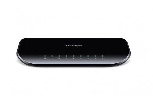 TP-Link switch TL-SG1008D (8xGE)