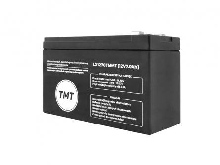 Akumulator żelowy 12V 7Ah TMT