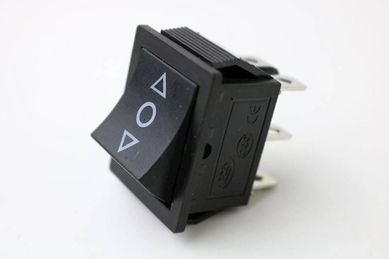 Przełącznik klawiszowy KCD4 chwilowy (ON)-OFF-(ON)