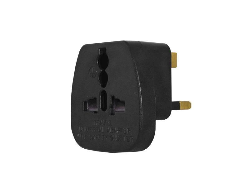 Adapter sieciowy wtyk UK- gniazdo uniwersalne