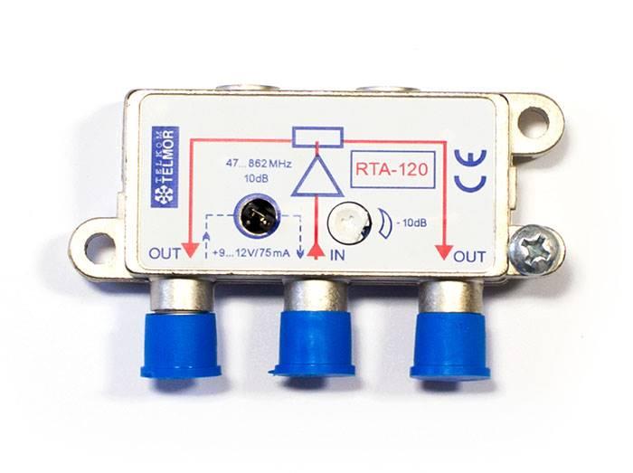 Rozgałęźnik TV RTA-120 aktywny