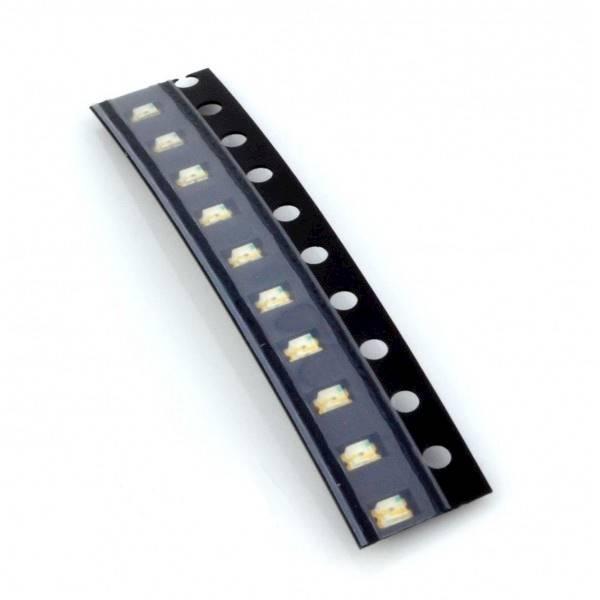 Dioda LED SMD 0805 biała  boczna
