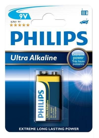 Bateria 6LR61 9V Philips ultra akaline